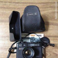 Cámara de fotos: MFF.- CAMARA FOTOGRAFICA YASHICA. ELECTRO 35 GSN / GTN.-. Lote 180015838