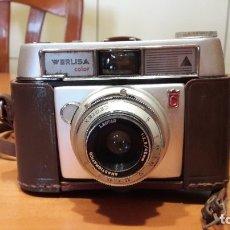 Cámara de fotos: CAMARA FOTOGRAFICA WERLISA COLOR AÑO 1966. Lote 180394450