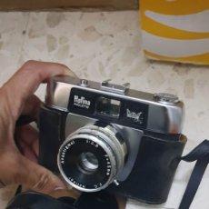 Cámara de fotos: CAMARA FOTOGRAFICA HALINA PAULETTE CON FLASH EN SU CAJA. Lote 180853125