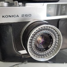 Cámara de fotos: KONICA 260 DE 1967. Lote 181092960