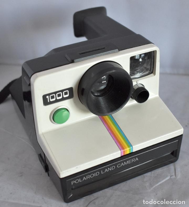 CALIDAD..UTILIZA FILM SX 70 INSTANT..POLAROID LAND 1000..USA 1976..MUY BUEN ESTADO..FUNCIONA (Cámaras Fotográficas - Clásicas (no réflex))