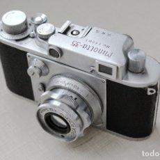 Cámara de fotos: MINOLTA 35 .PRIMER MODELO .TIPO D CON SUPER ROKKOR. JAPON OCUPADO. Lote 181585501