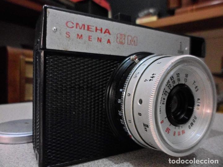 Cámara de fotos: CÁMARA SOVIÉTICA SMENA LOMO 8M - Foto 3 - 182509767