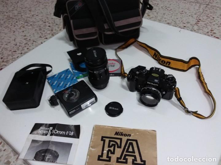 Cámara de fotos: Cámara Nikon FA 35mm,como nueva - Foto 4 - 182542413