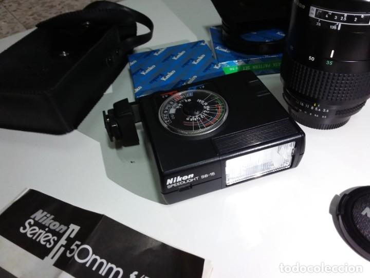 Cámara de fotos: Cámara Nikon FA 35mm,como nueva - Foto 5 - 182542413