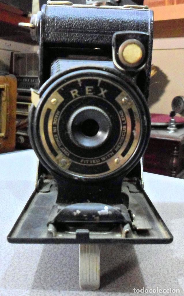 Cámara de fotos: CAMARA DE FUELLE REX CORONET - Foto 3 - 182667218