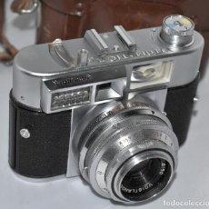 Cámara de fotos: PRESTIGIO,CALIDAD.TELEMETRICA.VOIGTLANDER VITOMATIC IIA+FUNDA.ALEMANIA 1963.MUY BUEN ESTADO.FUNCIONA. Lote 183506890