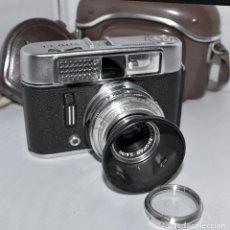 Cámara de fotos: CAMARA ANTIGUA 35 MM.VOIGTLANDER VITO CL DELUXE+FUNDA+EXTRAS.ALEMANIA 1962.MUY BUEN ESTADO..FUNCIONA. Lote 183521296