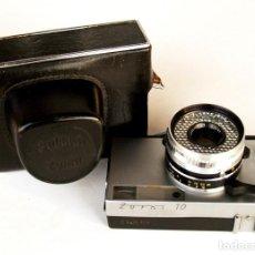 Cámara de fotos: *C1970* · KRASNOGORSK ZORKI 10 TELEMÉTRICA · INDUSTAR-63 F2.8 (FUNDA). Lote 184033521