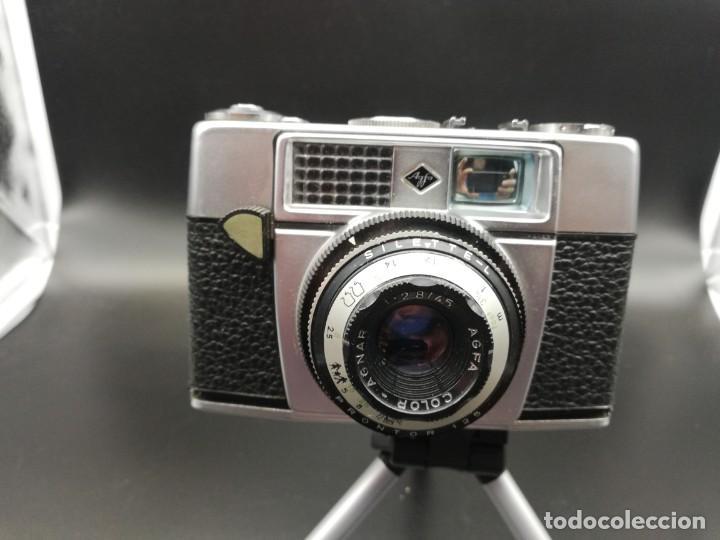 CÁMARA FOTOGRÁFICA AGFA SILETTTE-L VINTAGE 1956 PERFECTO ESTADO (GERMANY) (Cámaras Fotográficas - Clásicas (no réflex))