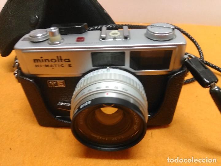 CAMARA FOTOGRÁFICA MINOLTA HI-MATIC -E (Cámaras Fotográficas - Clásicas (no réflex))