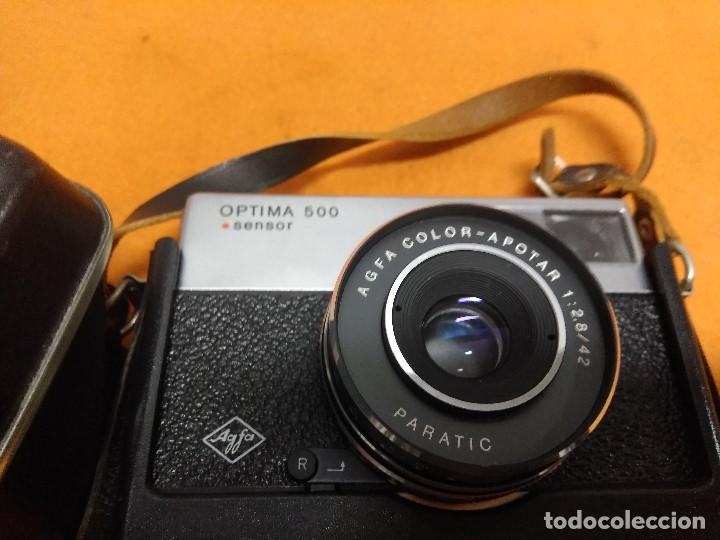Cámara de fotos: CAMARA AGFA OPTIMA 500 SENSOR CON SU FUNDA ORIGINAL ALEMANA - Foto 3 - 187110563