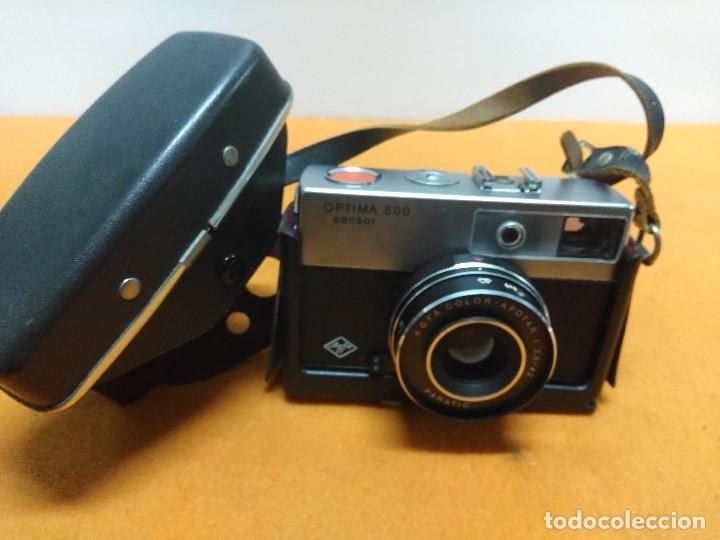 Cámara de fotos: CAMARA AGFA OPTIMA 500 SENSOR CON SU FUNDA ORIGINAL ALEMANA - Foto 4 - 187110563
