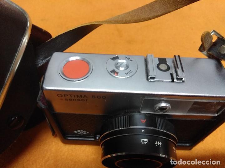 Cámara de fotos: CAMARA AGFA OPTIMA 500 SENSOR CON SU FUNDA ORIGINAL ALEMANA - Foto 5 - 187110563