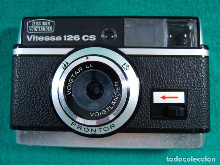 ZEISS IKON VOIGTLANDER VITESSA 126 CS-OBJETIVO PRONTOR VOIGTAR-CAMARA FOTOGRAFICA-ESTUCHE-AÑOS 60/70 (Cámaras Fotográficas - Clásicas (no réflex))