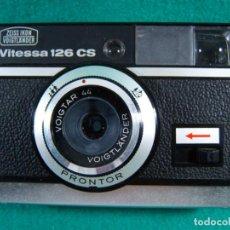 Cámara de fotos: ZEISS IKON VOIGTLANDER VITESSA 126 CS-OBJETIVO PRONTOR VOIGTAR-CAMARA FOTOGRAFICA-ESTUCHE-AÑOS 60/70. Lote 189633603