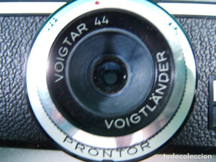 Cámara de fotos: ZEISS IKON VOIGTLANDER VITESSA 126 CS-OBJETIVO PRONTOR VOIGTAR-CAMARA FOTOGRAFICA-ESTUCHE-AÑOS 60/70 - Foto 6 - 189633603