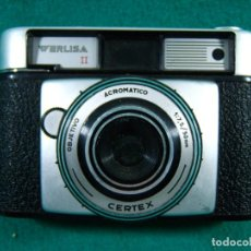 Cámara de fotos: WERLISA II-OBJETIVO CERTEX ACROMATICO-1:7,5/50 MM-FABRICADA EN ESPAÑA-CAMARA FOTOGRAFICA-AÑOS 60.. Lote 189656738