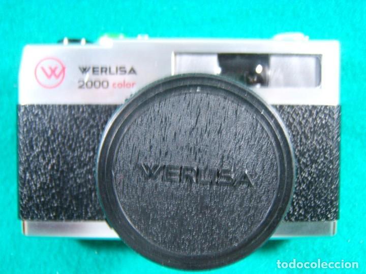 WERLISA 2000 COLOR-BOLTAR-CERTEX-ANASTIGMATICO-2000COLOR-CAMARA FOTOGRAFICA FABRICADA ESPAÑA-AÑOS 80 (Cámaras Fotográficas - Clásicas (no réflex))