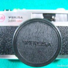 Cámara de fotos: WERLISA 2000 COLOR-BOLTAR-CERTEX-ANASTIGMATICO-2000COLOR-CAMARA FOTOGRAFICA FABRICADA ESPAÑA-AÑOS 80. Lote 189660566