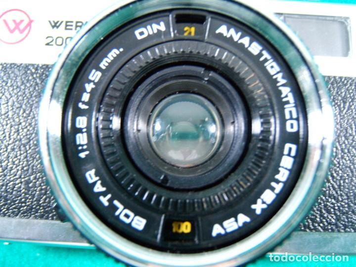 Cámara de fotos: WERLISA 2000 COLOR-BOLTAR-CERTEX-ANASTIGMATICO-2000COLOR-CAMARA FOTOGRAFICA FABRICADA ESPAÑA-AÑOS 80 - Foto 2 - 189660566