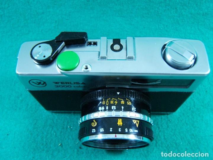 Cámara de fotos: WERLISA 2000 COLOR-BOLTAR-CERTEX-ANASTIGMATICO-2000COLOR-CAMARA FOTOGRAFICA FABRICADA ESPAÑA-AÑOS 80 - Foto 3 - 189660566