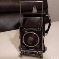 Cámara de fotos: CAMARA DE REPORTERO BUSCH PRESMANN MODELO C .6X9.RAREZA.FUNCIONA. Lote 190091238