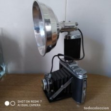 Appareil photos: AGFA ISOLETTE CON FLASH Y FUNDA. Lote 190130948