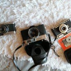 Cámara de fotos: LOTE DE 3 CÁMARAS NERA35, YASHICA MH-1,OLYMPUS TRIP35. Lote 190511401