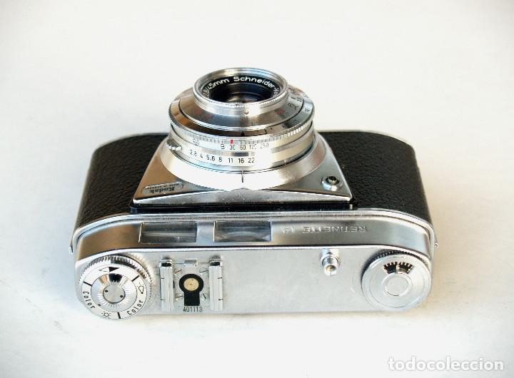 Cámara de fotos: *c1964* • Kodak AG RETINETTE IA (type 044) • Schneider REOMAR f2.8 PRONTOR 250 - Foto 2 - 190526081