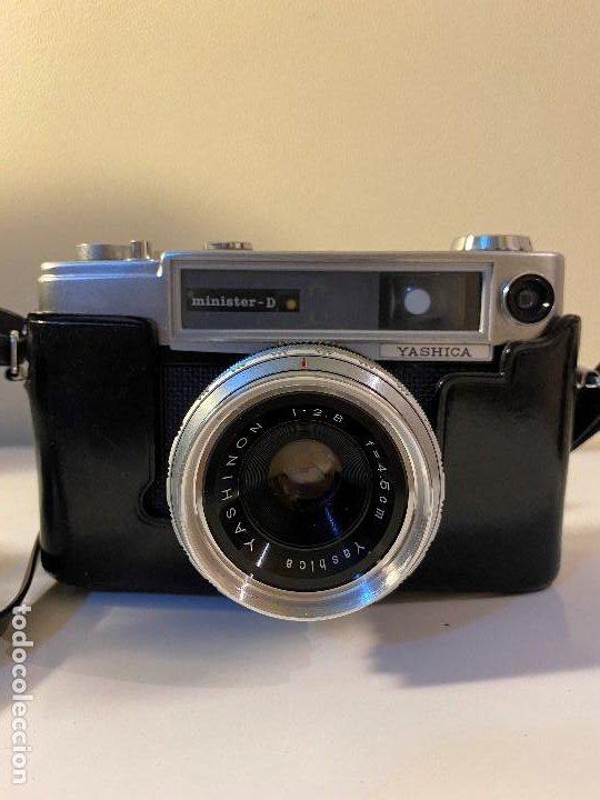 Cámara de fotos: CAMARA FOTOGRAFICA YASHICA CON PARASOL Y FUNDA ORIGINAL - Foto 2 - 190554455