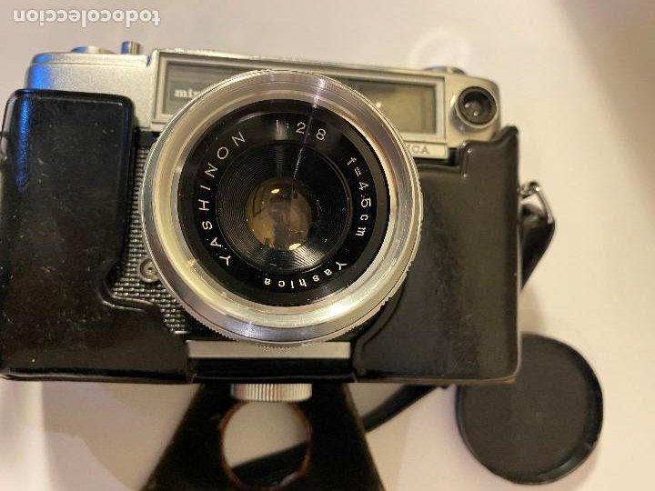 Cámara de fotos: CAMARA FOTOGRAFICA YASHICA CON PARASOL Y FUNDA ORIGINAL - Foto 3 - 190554455