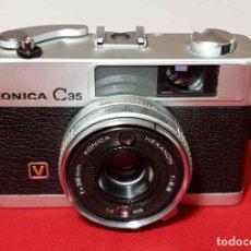 Cámara de fotos: CAMARA KONICA C35, FUNCIONANDO. Lote 191884183