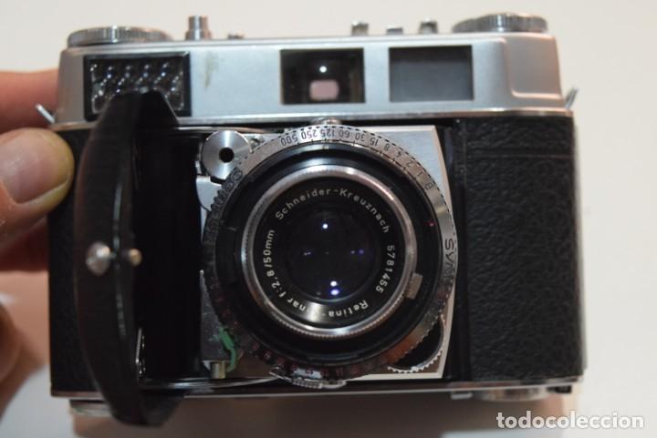 Cámara de fotos: Kodak Retina IB.Schneider lens. - Foto 2 - 192149858