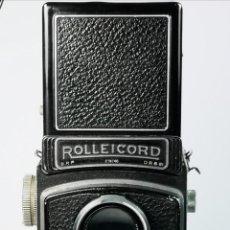 Cámara de fotos: ANTIGUA CAMARA FOTOGRAFICA ROLLEICORD FUNCIONA. Lote 192831938