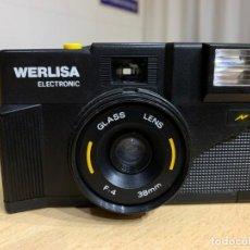 Cámara de fotos: WERLISA ELECTRONIC FABRICADA EN ESPAÑA EN 1986. Lote 193010375