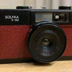 Cámara de fotos: SOLYCA S-100 A 1 GRANATE FABRICADA EN ESPAÑA 1978 . Lote 193022410