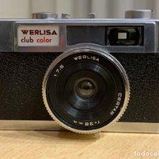 Cámara de fotos: WERLISA CLUB COLOR MODELO A-1 FABRICADA EN ESPAÑA. Lote 193025365