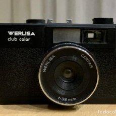 Cámara de fotos: WERLISA CLUB COLOR MODELO B FABRICADA EN ESPAÑA. Lote 193047606