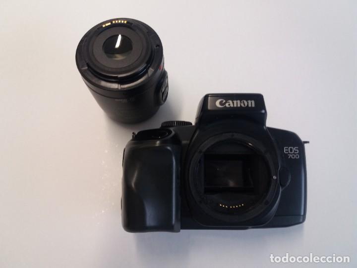 Cámara de fotos: MITICA CANON EOS 700 ANALÓGICA AÑOS 90 - Foto 16 - 193112172