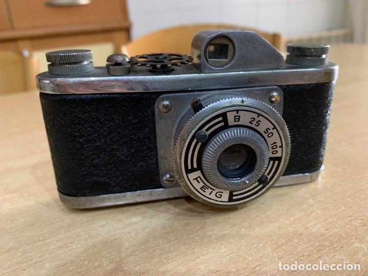 FEIG FABRICADA EN ESPAÑA EN 1948 (Cámaras Fotográficas - Clásicas (no réflex))