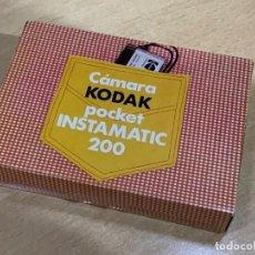 Cámara de fotos: KODAK POCKET INTAMATIC 200 FABRICADA EN ESPAÑA. Lote 193551293