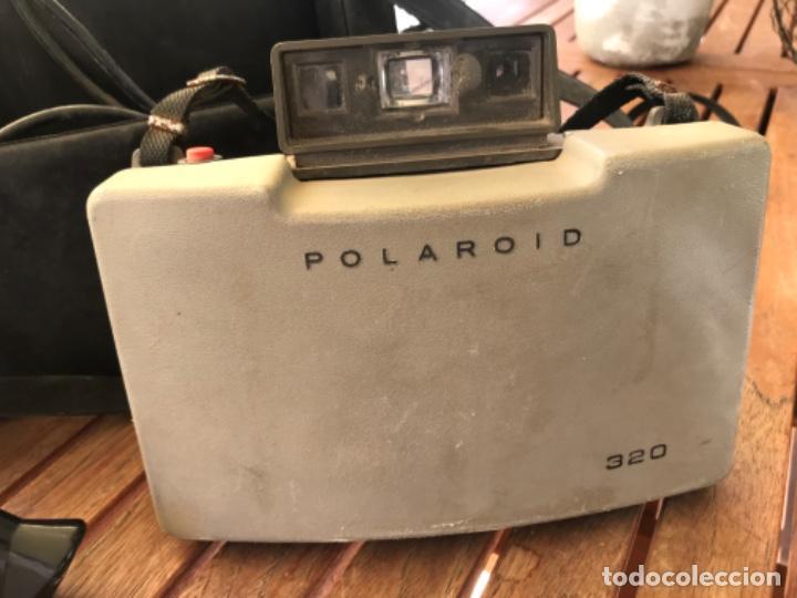 Cámara de fotos: Antigua Cámara Fotos Polaroid 320. Automática. De fuelle. Con Flash y funda. - Foto 8 - 193610171