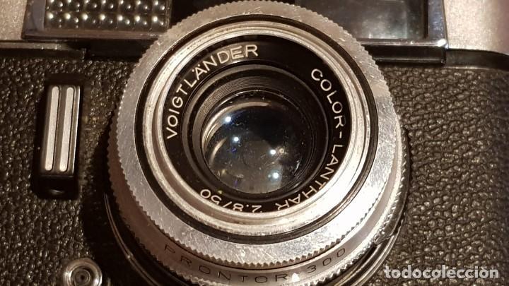 Cámara de fotos: CAMARA VOIGTLANDER -VITORET DR / CON FUNDA PARA DESGUACE DE PIEZAS. ( FUNDA ROTA ) - Foto 7 - 193804526