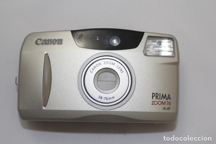 CANON PRIMA 38-76 M.M / AI-AF (Cámaras Fotográficas - Clásicas (no réflex))