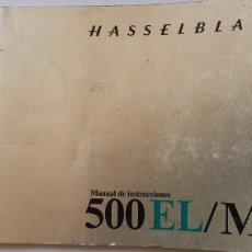 Cámara de fotos: HASSELBLAD 500 EL M MANUAL CAMARA. Lote 194674928