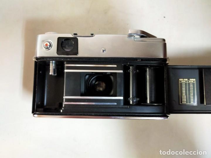 Cámara de fotos: CAMARA DE FOTOS YASHICA MD JAPAN, NUMERADA, CON FUNDA DE CUERO NEGRO ORIGINAL - Foto 11 - 194884612