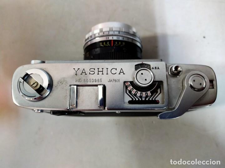Cámara de fotos: CAMARA DE FOTOS YASHICA MD JAPAN, NUMERADA, CON FUNDA DE CUERO NEGRO ORIGINAL - Foto 12 - 194884612