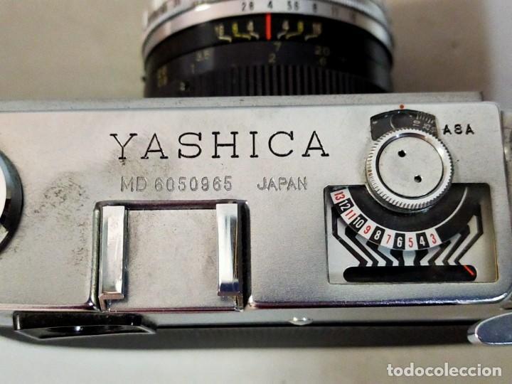 Cámara de fotos: CAMARA DE FOTOS YASHICA MD JAPAN, NUMERADA, CON FUNDA DE CUERO NEGRO ORIGINAL - Foto 13 - 194884612