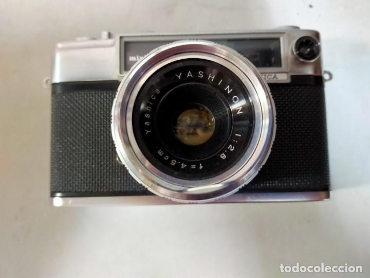 Cámara de fotos: CAMARA DE FOTOS YASHICA MD JAPAN, NUMERADA, CON FUNDA DE CUERO NEGRO ORIGINAL - Foto 15 - 194884612